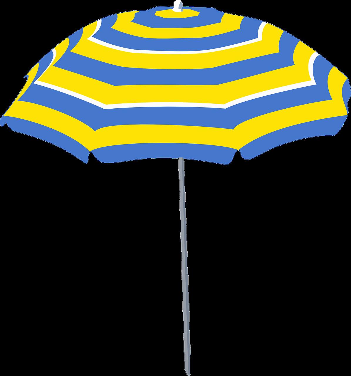 sonnenschirm regenschirm blau · kostenlose vektorgrafik