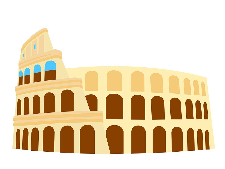 colosseum italy rome free vector graphic on pixabay rh pixabay com