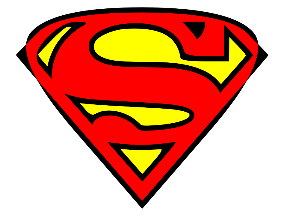 superman hero superhero 183 free vector graphic on pixabay