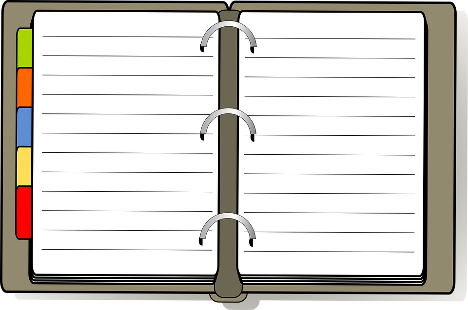 Penyelenggara Buku Harian Gambar Vektor Gratis Di Pixabay