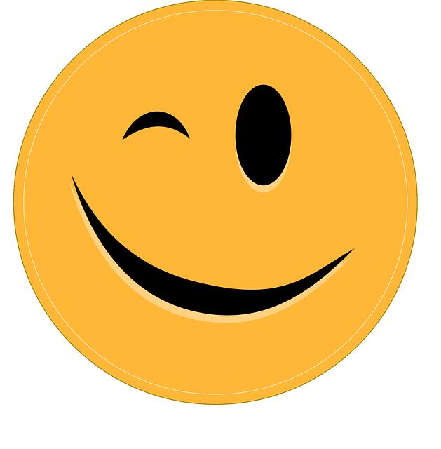 Smiley clin d 39 oeil motic ne images vectorielles gratuites sur pixabay - Image sourire gratuit ...