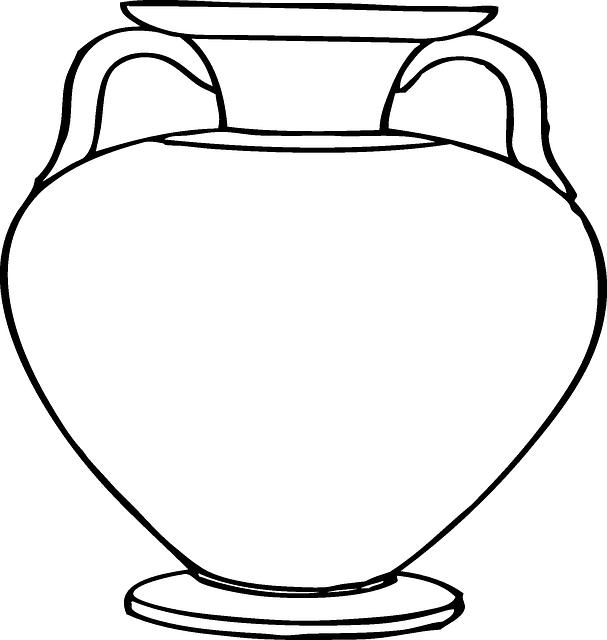 Free vector graphic vase pottery flower pot roman free image on pixabay - Idee deco vase transparent ...