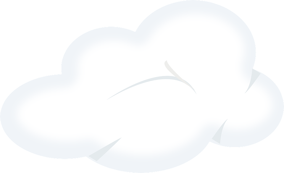 Gambar Vektor Gratis Awan Cuaca Hujan Kabut Misty Meteorologi Putih