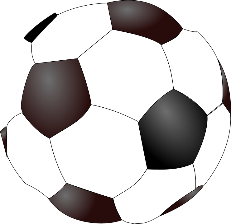 football ball soccer free vector graphic on pixabay rh pixabay com soccer ball graphics printable soccer ball graphics free