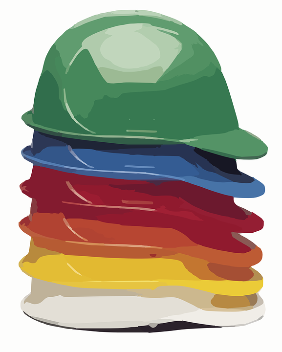 Hard Hat Helmet Construction Free Vector Graphic On Pixabay