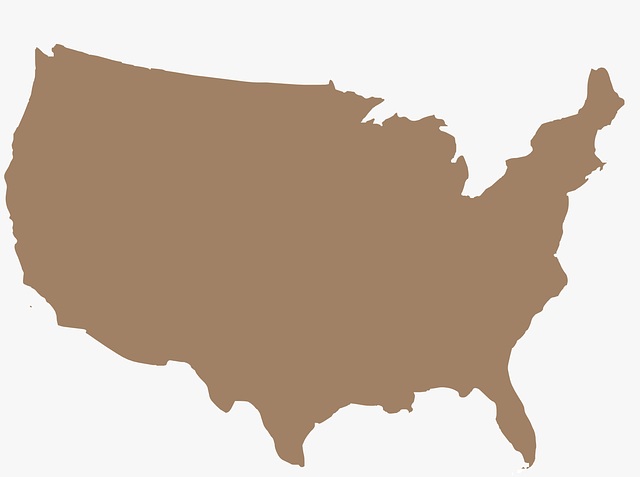 Free Vector Graphic America Map Usa Free Image On Pixabay - Usa map graphic