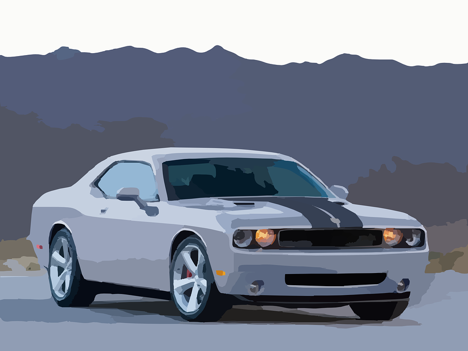 Dodge Car Sports Free Vector Graphic On Pixabay