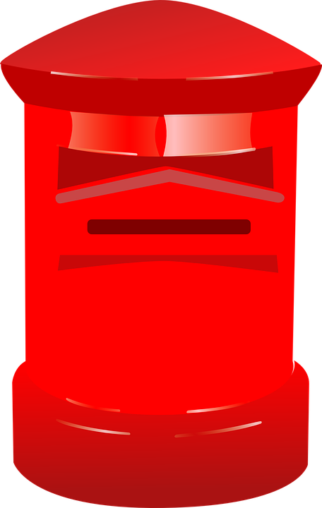 Free vector graphic: Letterbox, Postbox, Red, Letter Box ...