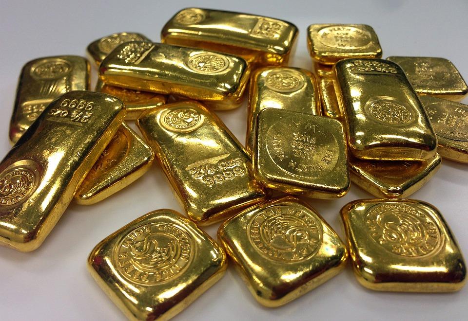Gold, Bullion, Ing, Gold Bullion, Bar Of Gold, Gold Bar