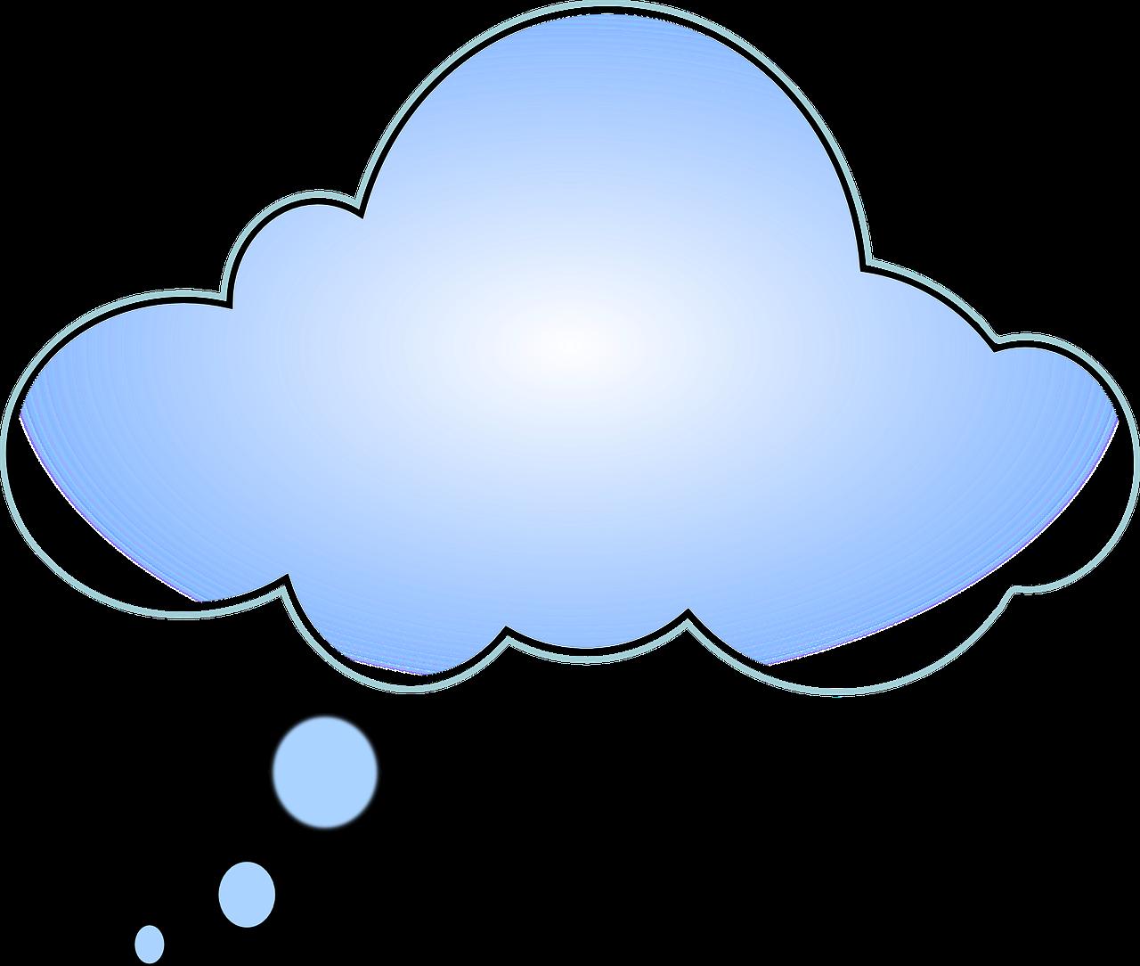 Надпись на картинке в облаке