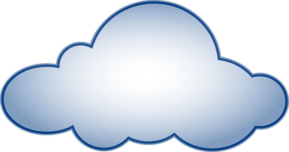 Awan Hujan Gambar Vektor Gratis Pixabay Cuaca Biru Kartun