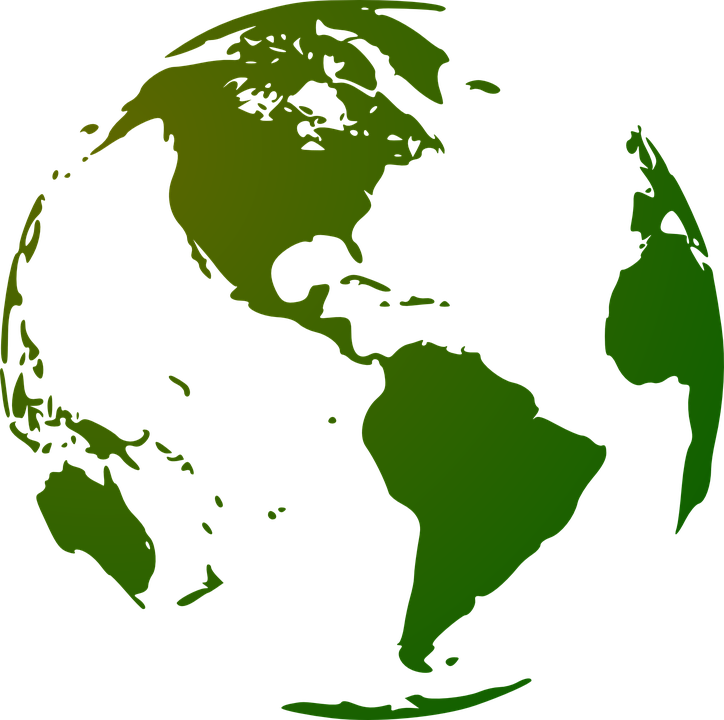 globe earth continents free vector graphic on pixabay rh pixabay com vector global map vector global