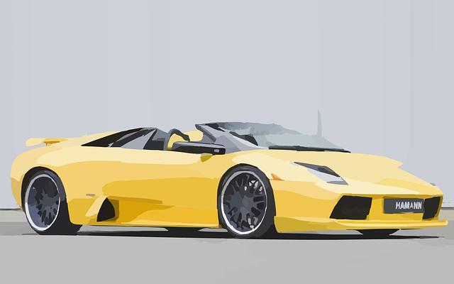 Free Vector Graphic Lamborghini Racing Car Sporty