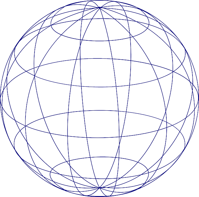 free vector graphic  sphere  globe  grid  earth  planet - free image on pixabay