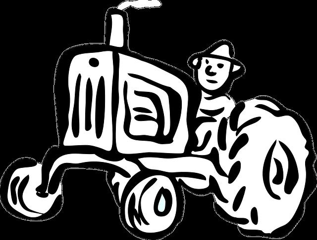 Afbeelding Tractor John Deere Kleurplaat Free Vector Graphic Tractor Agriculture Engine Car