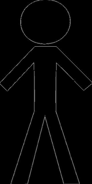 image vectorielle gratuite  l u0026 39 homme  gar u00e7on  hommes  black