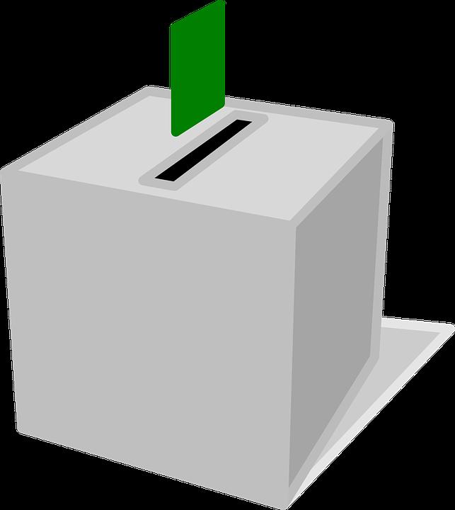 Omröstning, Låda, Rösta