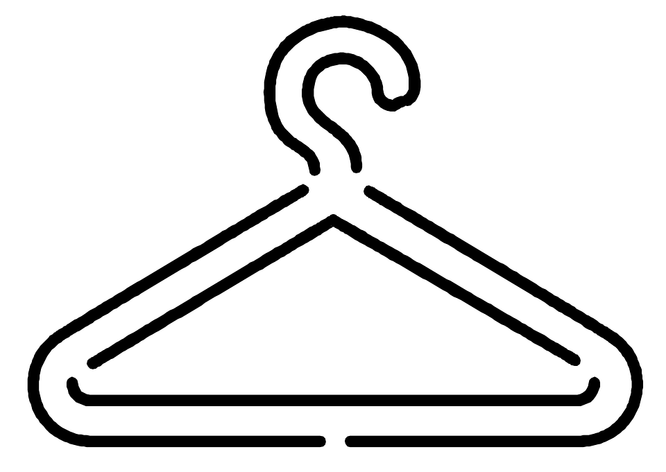 Free vector graphic: Coat Hanger, Hanger, Clothing