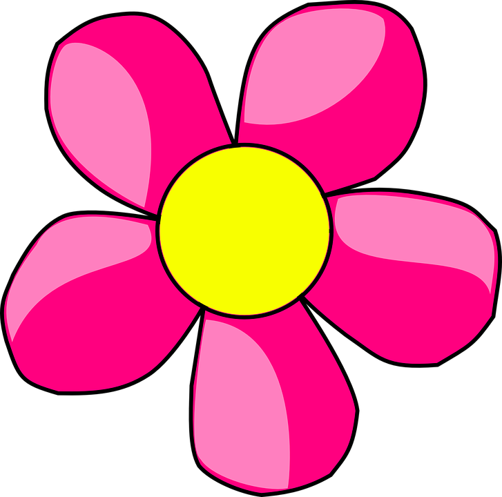 flor margarida lírio gráfico vetorial grátis no pixabay