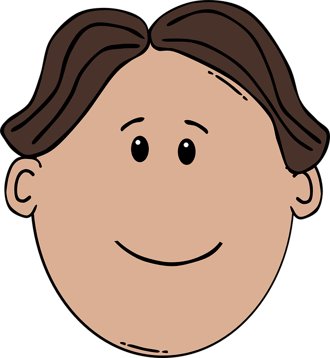Boy Man Face · Free vector graphic on Pixabay