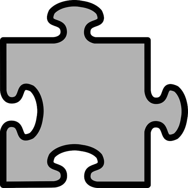 Jigsaw Puzzle Grey Free Vector Graphic On Pixabay