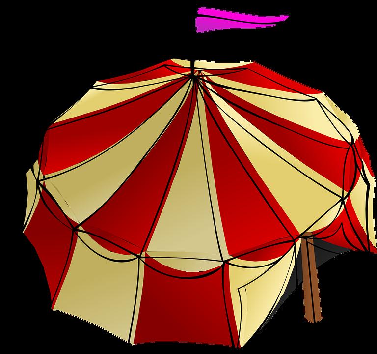 Big Top, Circus, Tent, Festival, Circus Tent