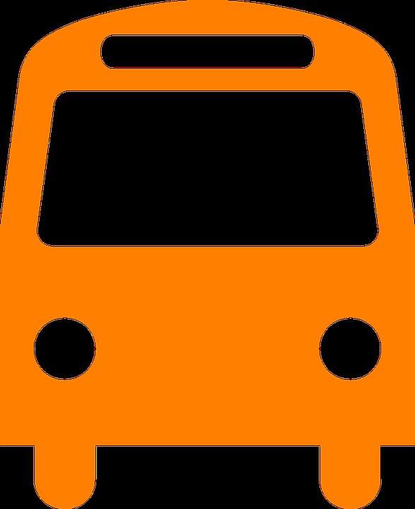 free vector graphic bus  public transport  symbol free School Bus Clip Art School Bus Clip Art