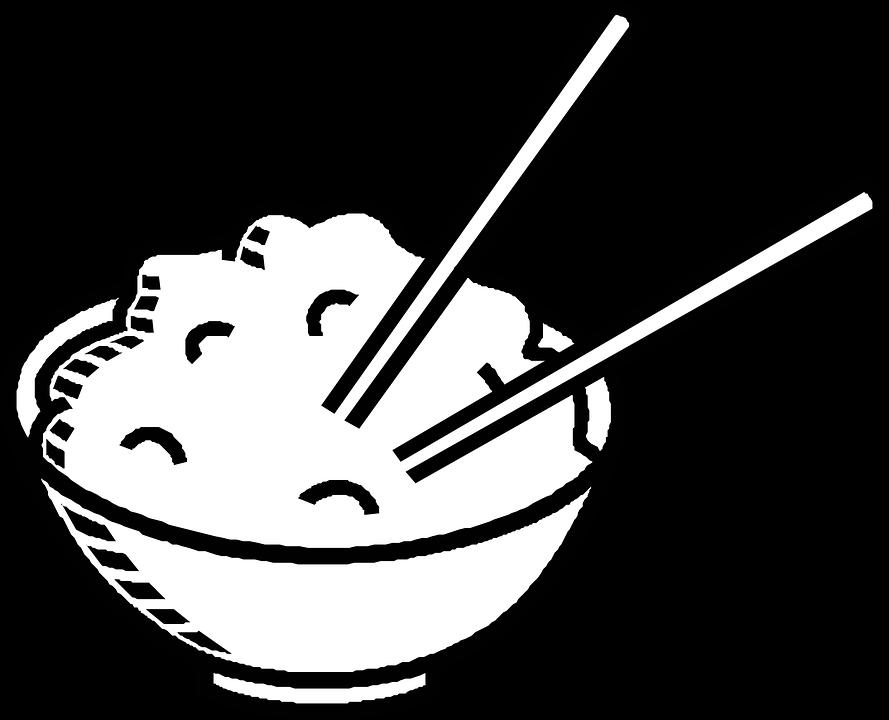 chopsticks chinese food bowl free vector graphic on pixabay rh pixabay com chinese food clipart free chinese food clipart black and white