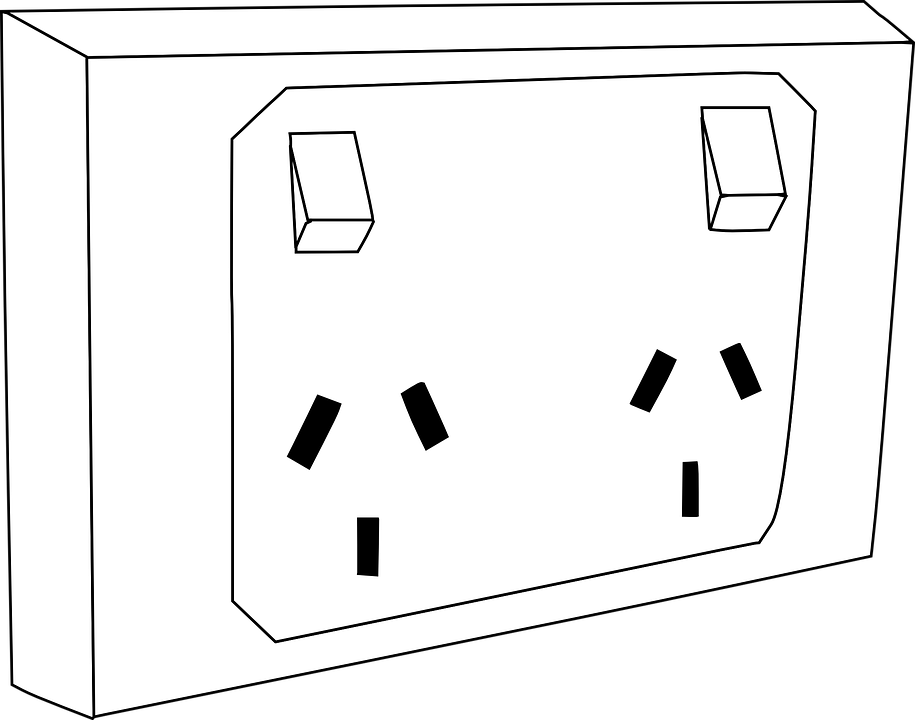 Free vector graphic: Outlet, Socket, Double, Electric - Free Image ...