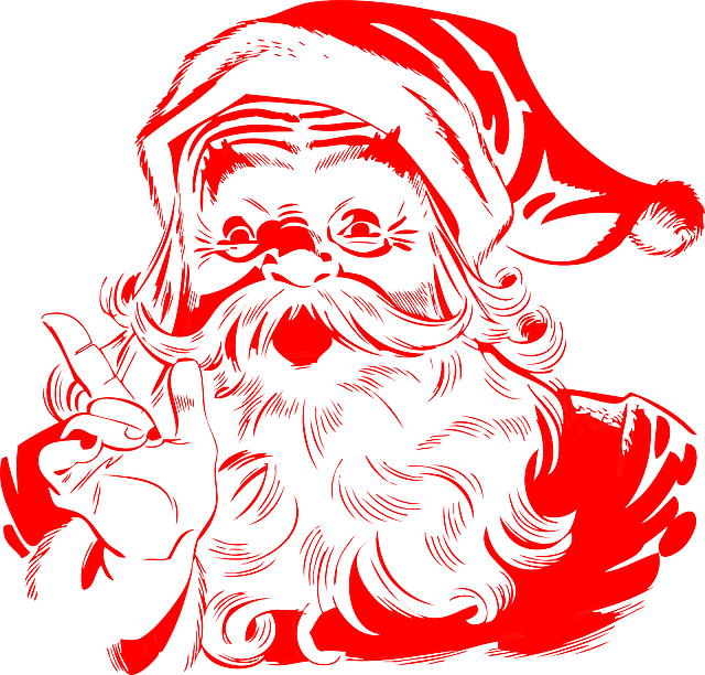 Santa Claus Red Christmas · Free Vector Graphic On Pixabay