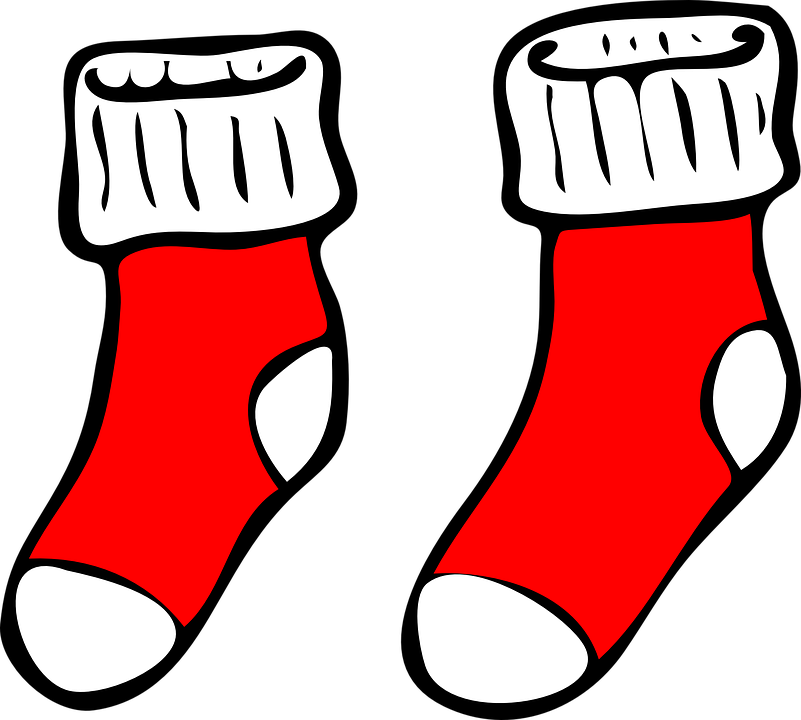 Socken Rot Weihnachten · Kostenlose Vektorgrafik auf Pixabay