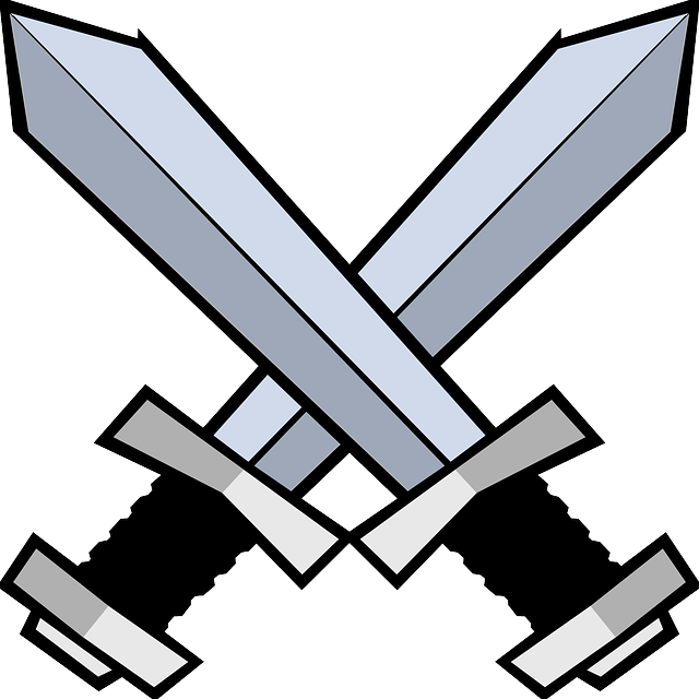 Swords Battle Blades · Free vector graphic on Pixabay