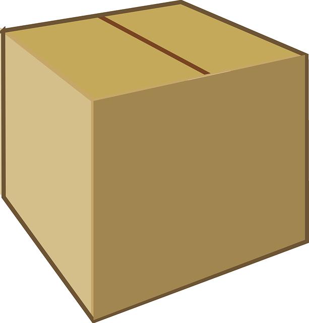 cardboard box brown  u00b7 free vector graphic on pixabay box clipart coloring box clipart coloring