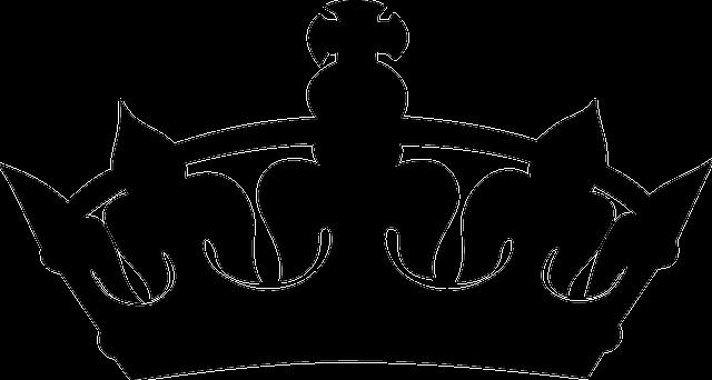 Corona Real Negro · Gráficos Vectoriales Gratis En Pixabay