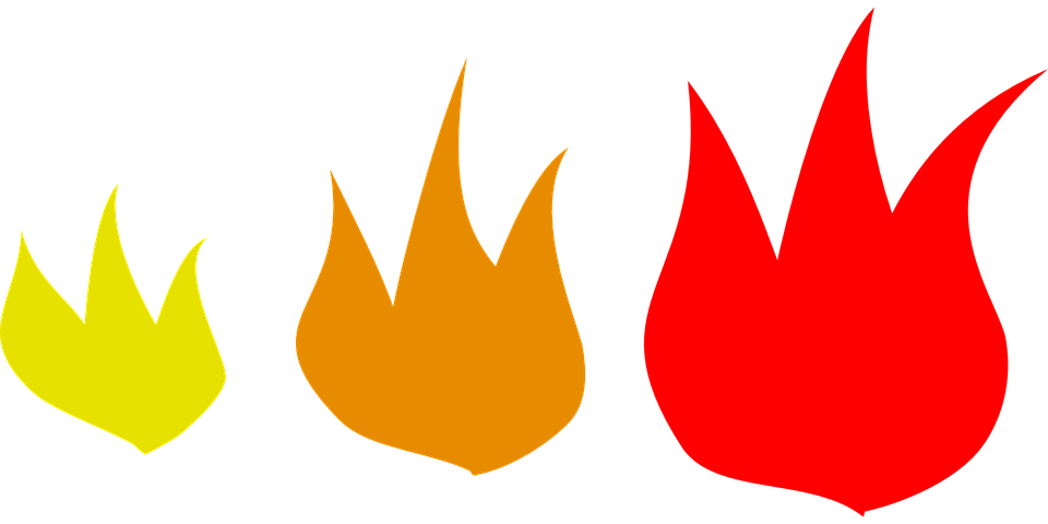 Fire Flames Heat · Free Vector Graphic On Pixabay