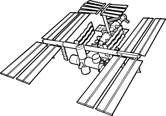 free vector graphic international space station free