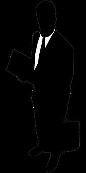 実業家, 男, シルエット, ビジネス, ビジネスマン, リーダー, スーツ