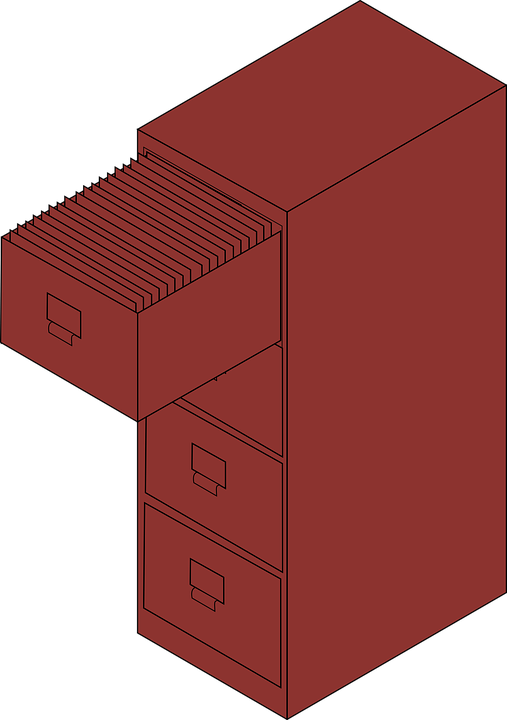 File Cabinet Filing - Free vector graphic on Pixabay
