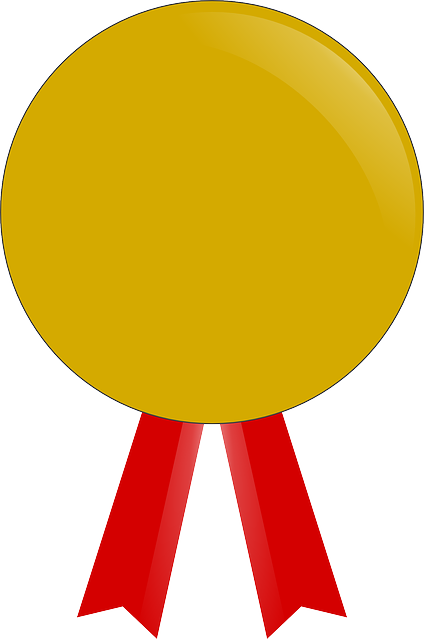 Free vector graphic: Award, Gold, Medal, Accolade, Badge ...
