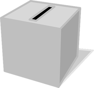 Election Vote Box Ballot Voting Charity Do
