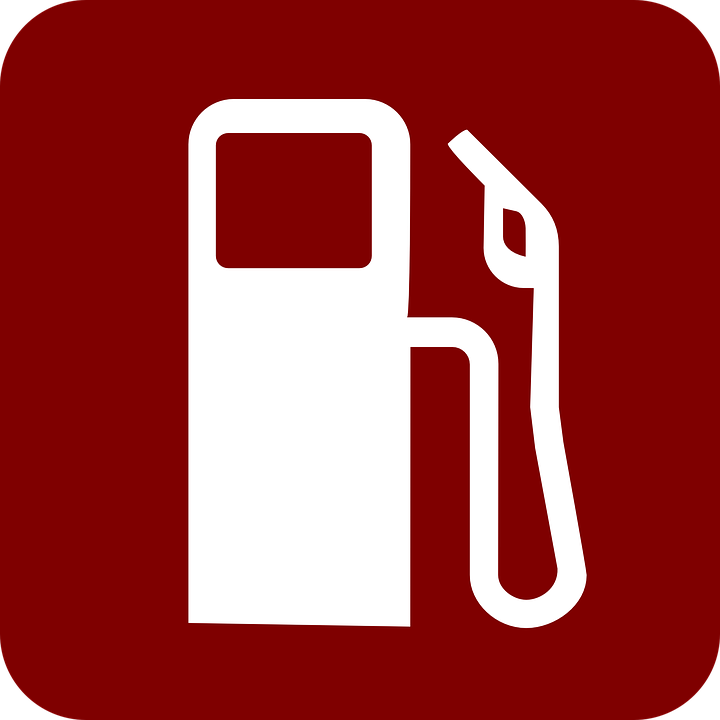 Gas Pump Red Fuel · Free vector graphic on Pixabay