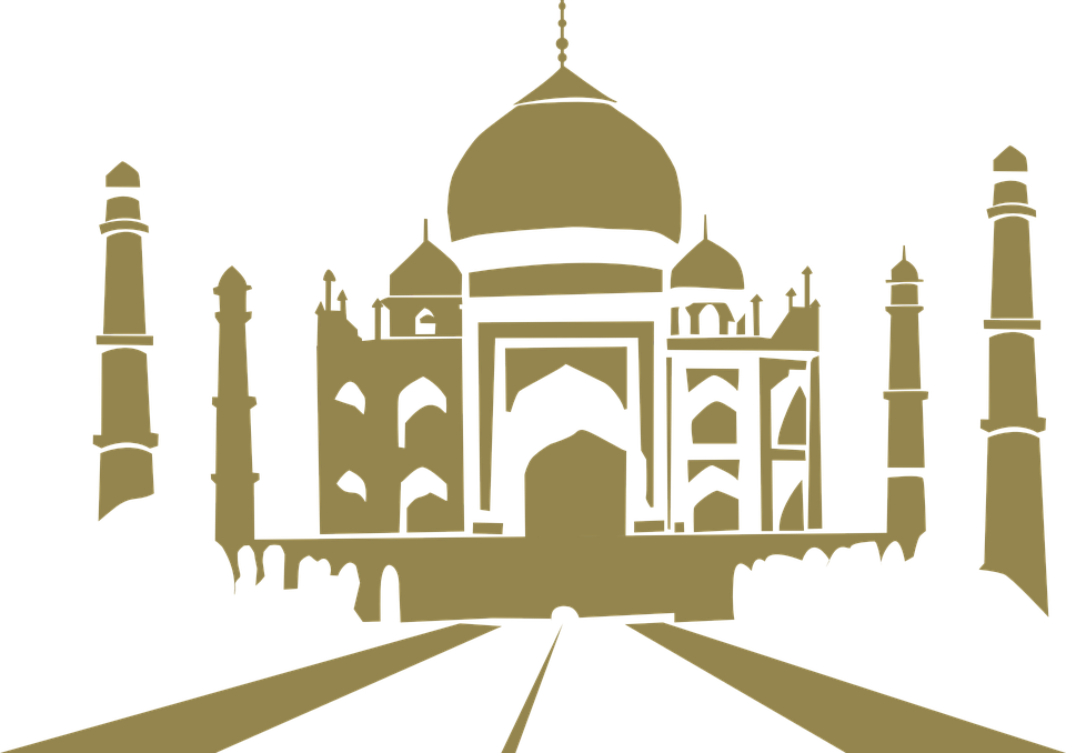 Taj Mahal India Architecture Free Vector Graphic On Pixabay