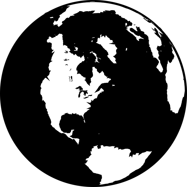 d04920be65 Globe World Earth - Free vector graphic on Pixabay