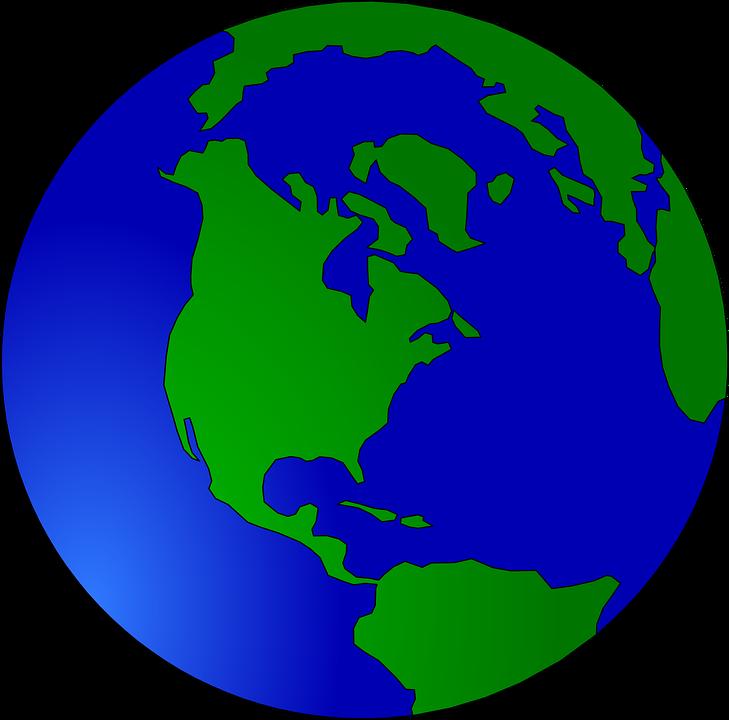 Mundo La Tierra Esfera Gráficos Vectoriales Gratis En Pixabay