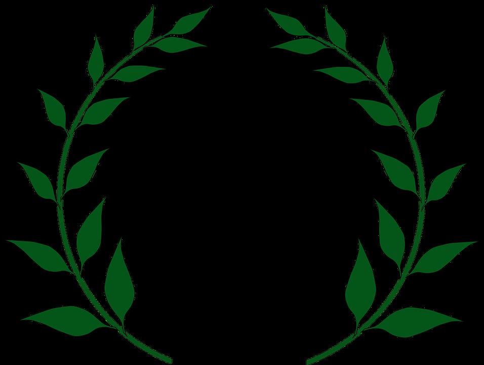 laurel wreath greek free vector graphic on pixabay rh pixabay com laurel leaf wreath clipart laurel wreath clipart free