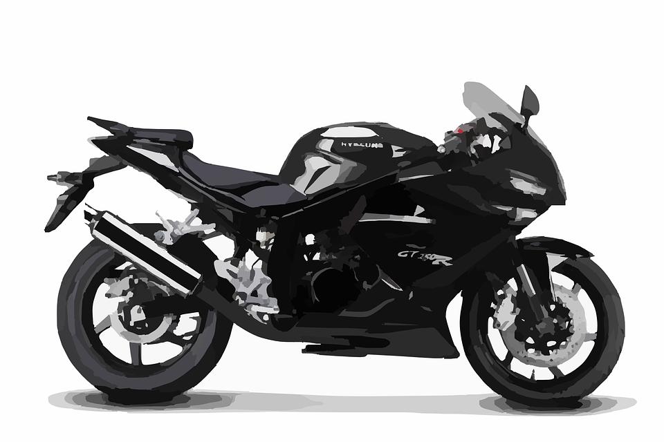 motocicleta moto corrida de gráfico vetorial grátis no pixabay