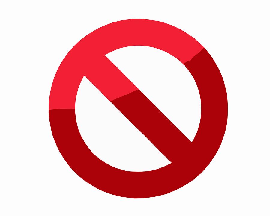 Vector Gratis: Prohibido, Bloqueado, Eliminar