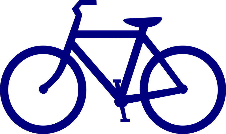 bike bicycle sports free vector graphic on pixabay rh pixabay com vector bicycle pavement markings vector bicycle parts
