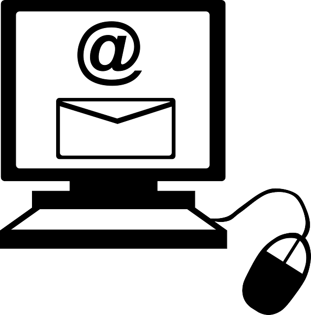Writing Email Clipart