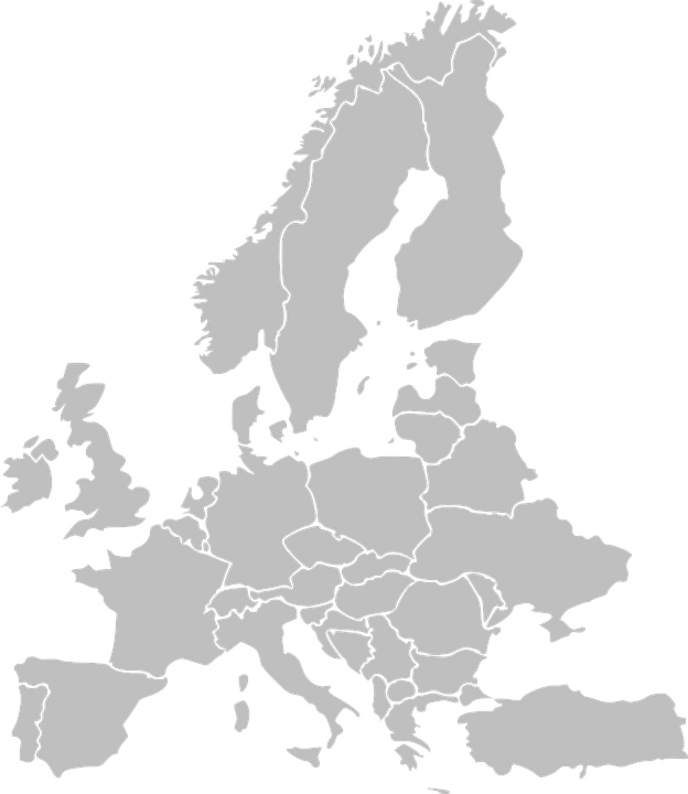 Free vector graphic Europe Map Countries States Free Image